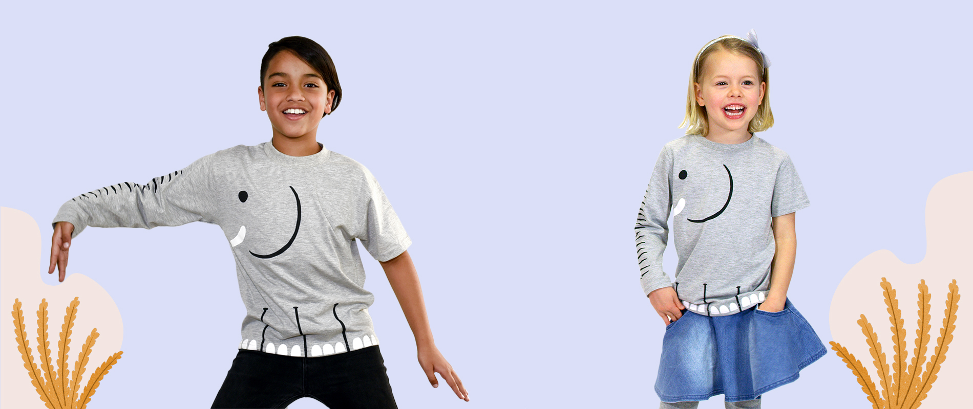 Sheldrick Wildlife Trust launches t-shirt educating kids about why elephants are facing extinction in new project via whiteGREY