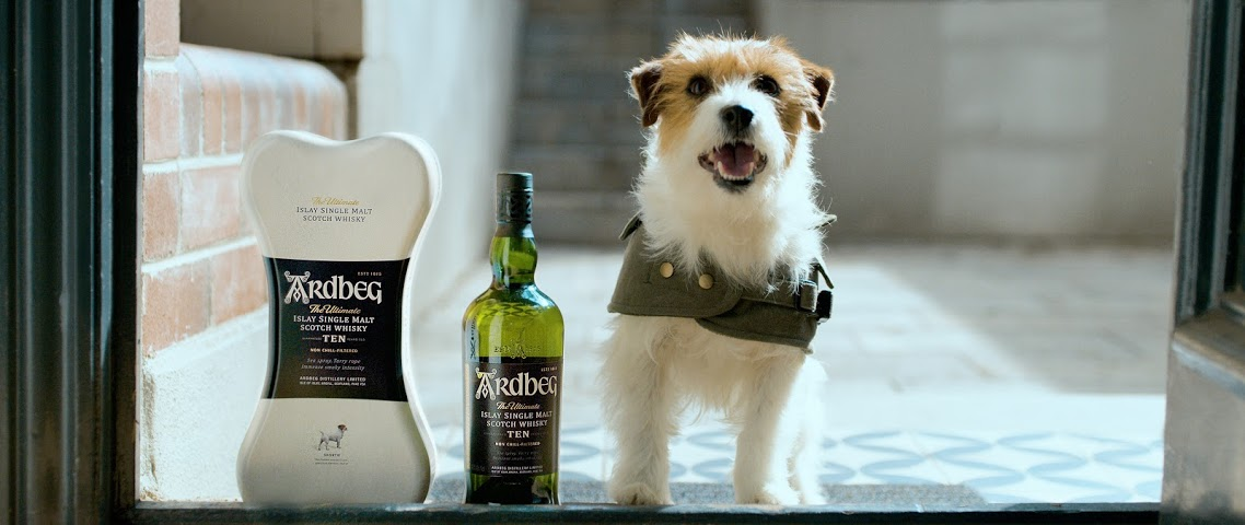 Ardbeg's loyal canine mascot 'Shortie' fronts Father's Day film via Endeavor Global Marketing