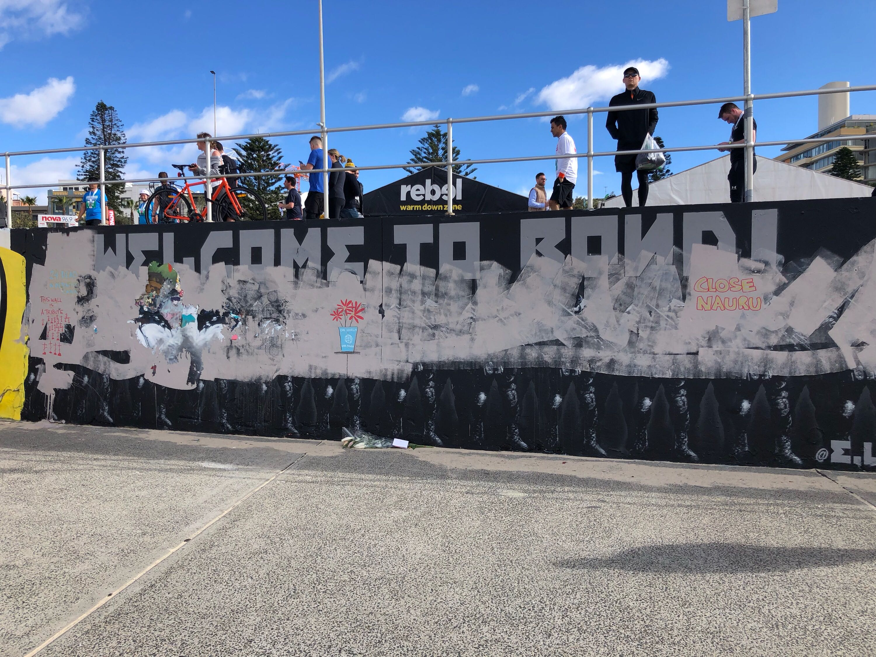 Controversial 'Not Welcome to Bondi' mural immortalised using WebAR technology via Unbnd