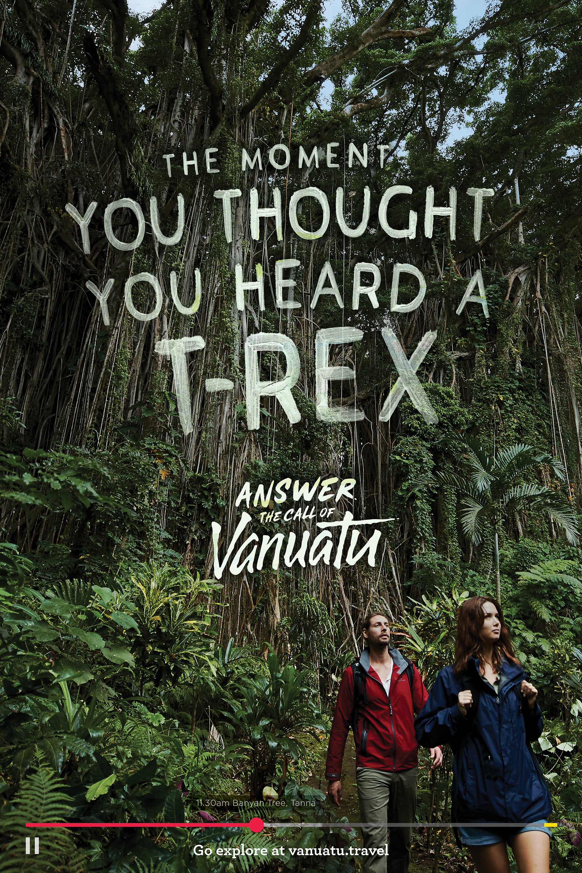 Travellers asked to leave the everyday behind and answer the call of Vanuatu in new ad via Engine
