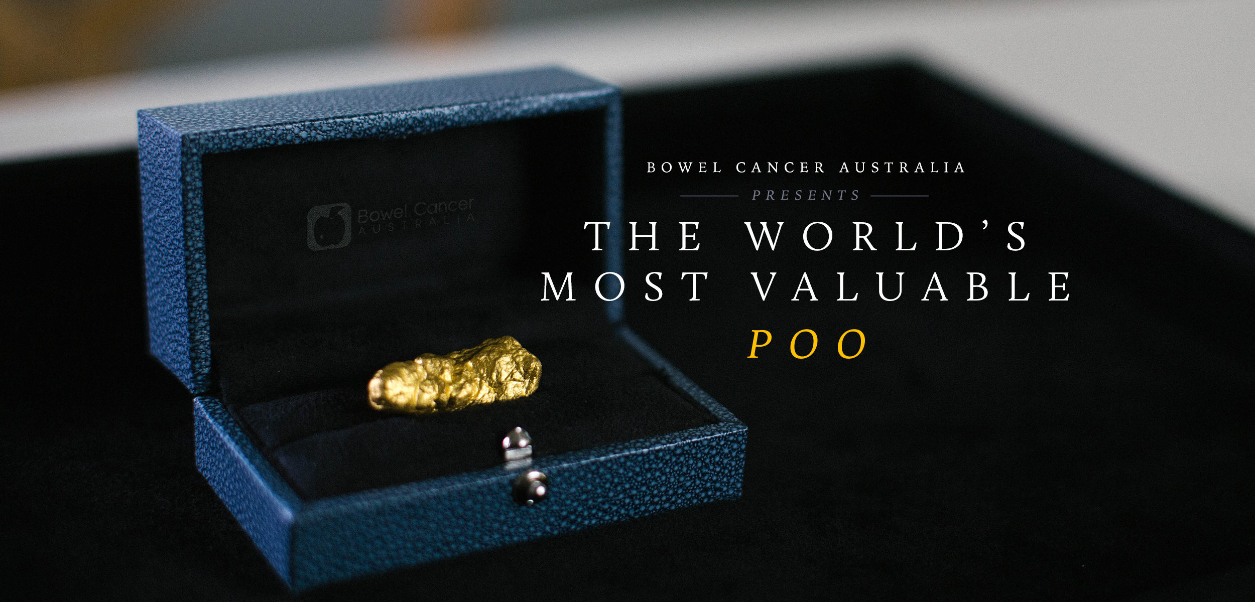 Cox Inall Change and BWM Dentsu create world's most valuable poo for Bowel Cancer Australia
