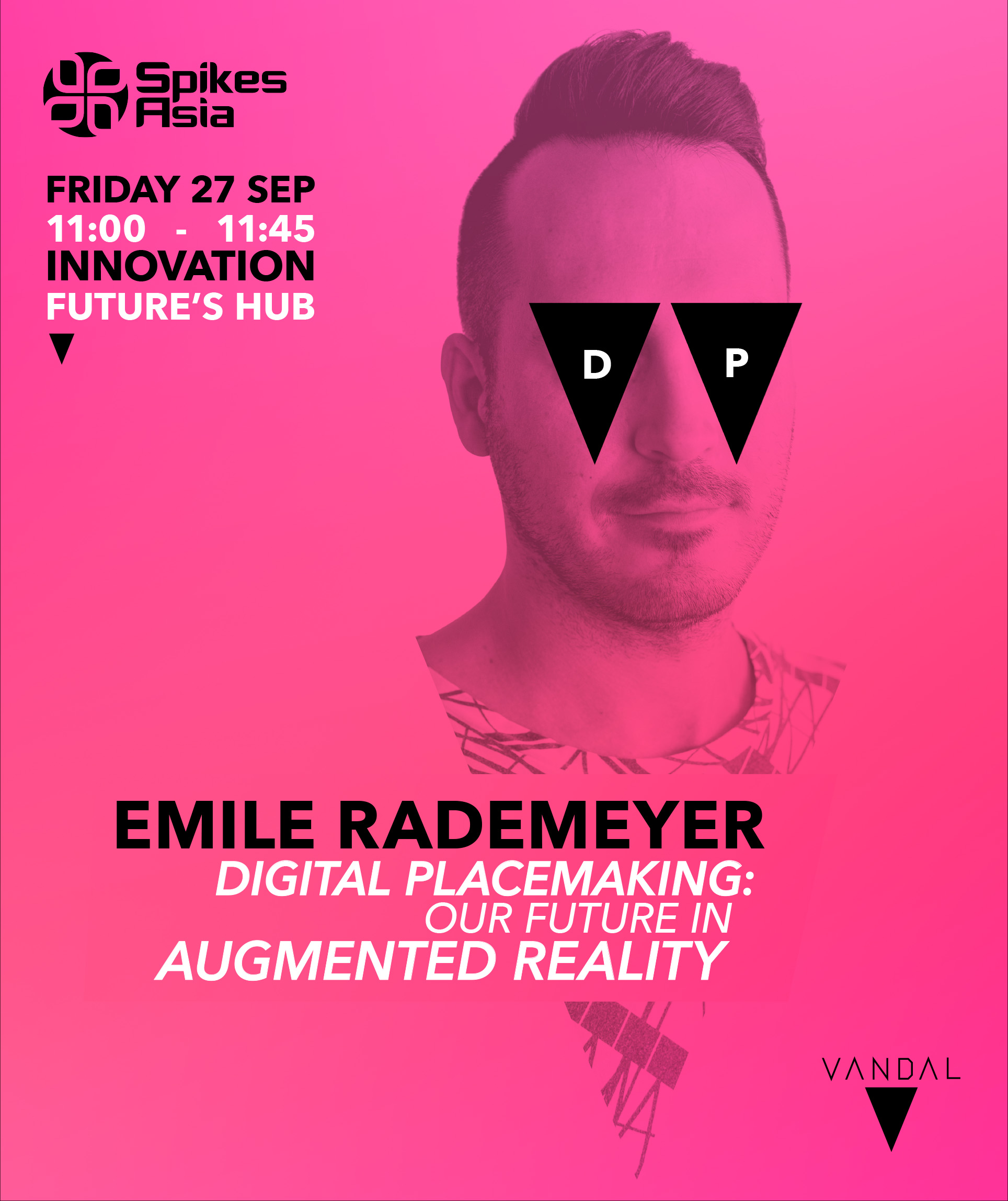 VANDAL creative director Emile Rademeyer to present Digital Placemaking at Spikes Asia