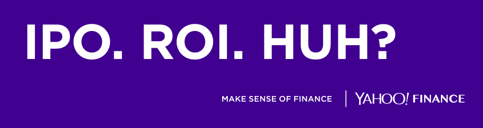 Yahoo Finance launches new OOH campaign 'Make Sense of Finance' via Bold and One Green Bean
