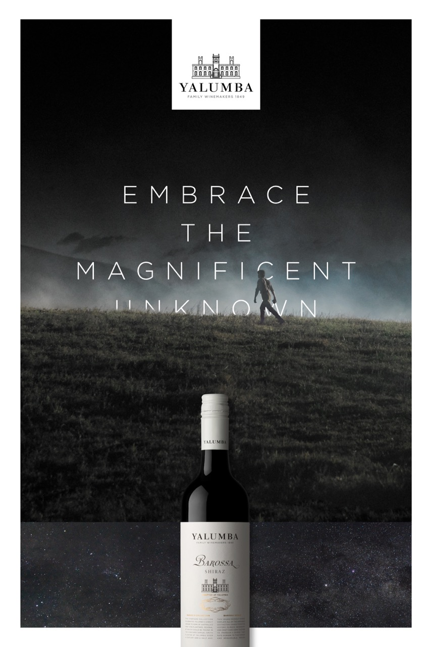 Yalumba asks us to 'Embrace the Magnificent Unknown' in new campaign via Special Group