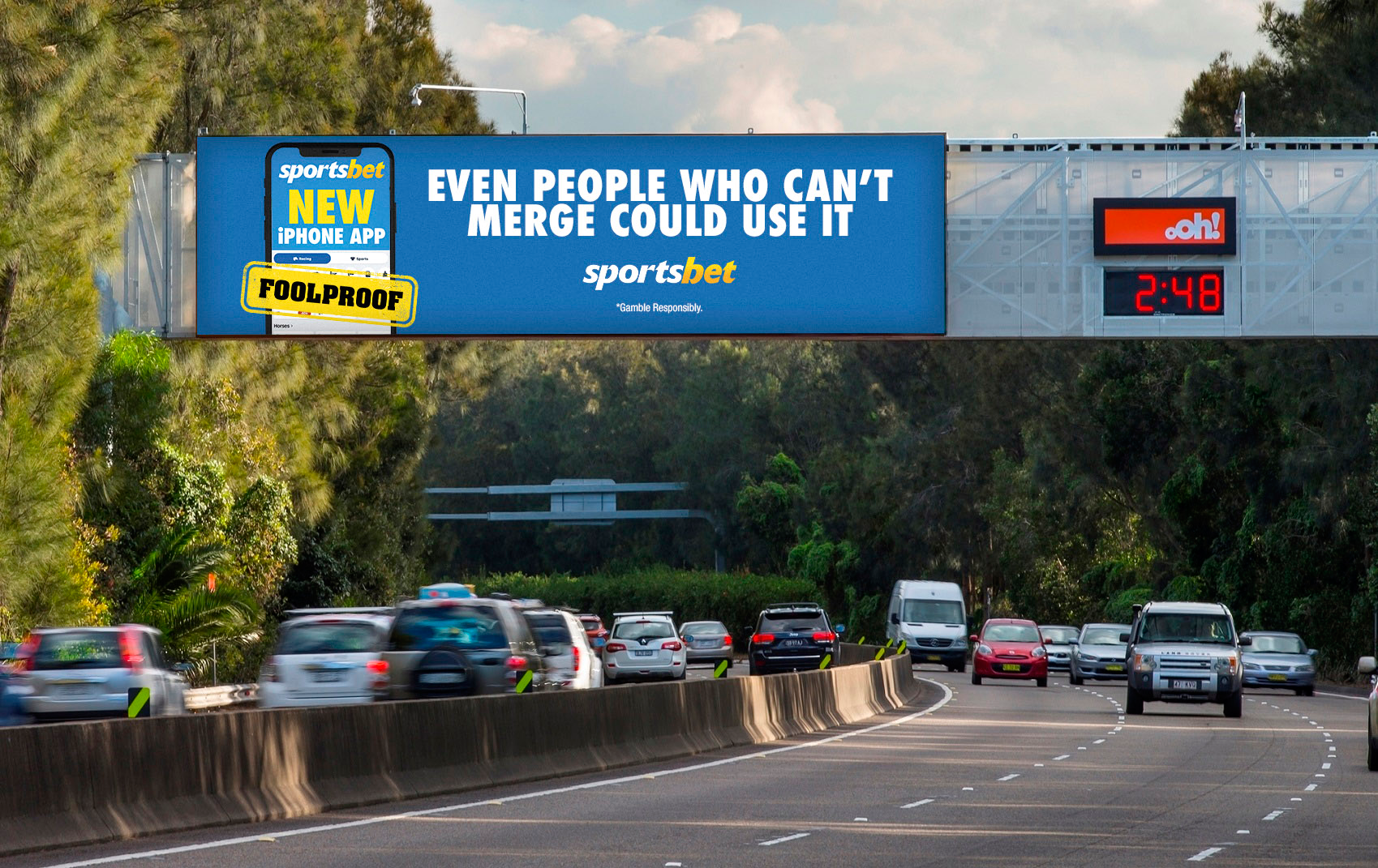 Sportsbet puts its foolproof iPhone app to the test in major integrated campaign via Emotive