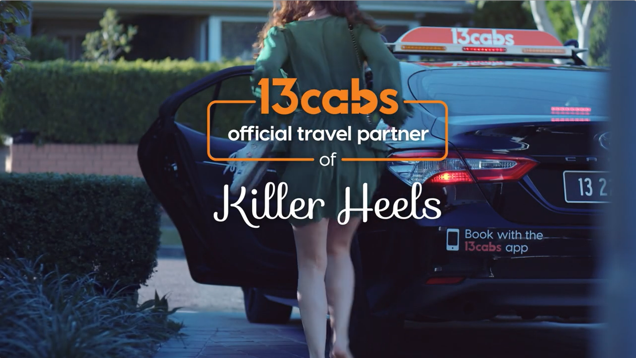 13cabs is the Official Travel Partner of… well, lots of things in new campaign via Thinkerbell