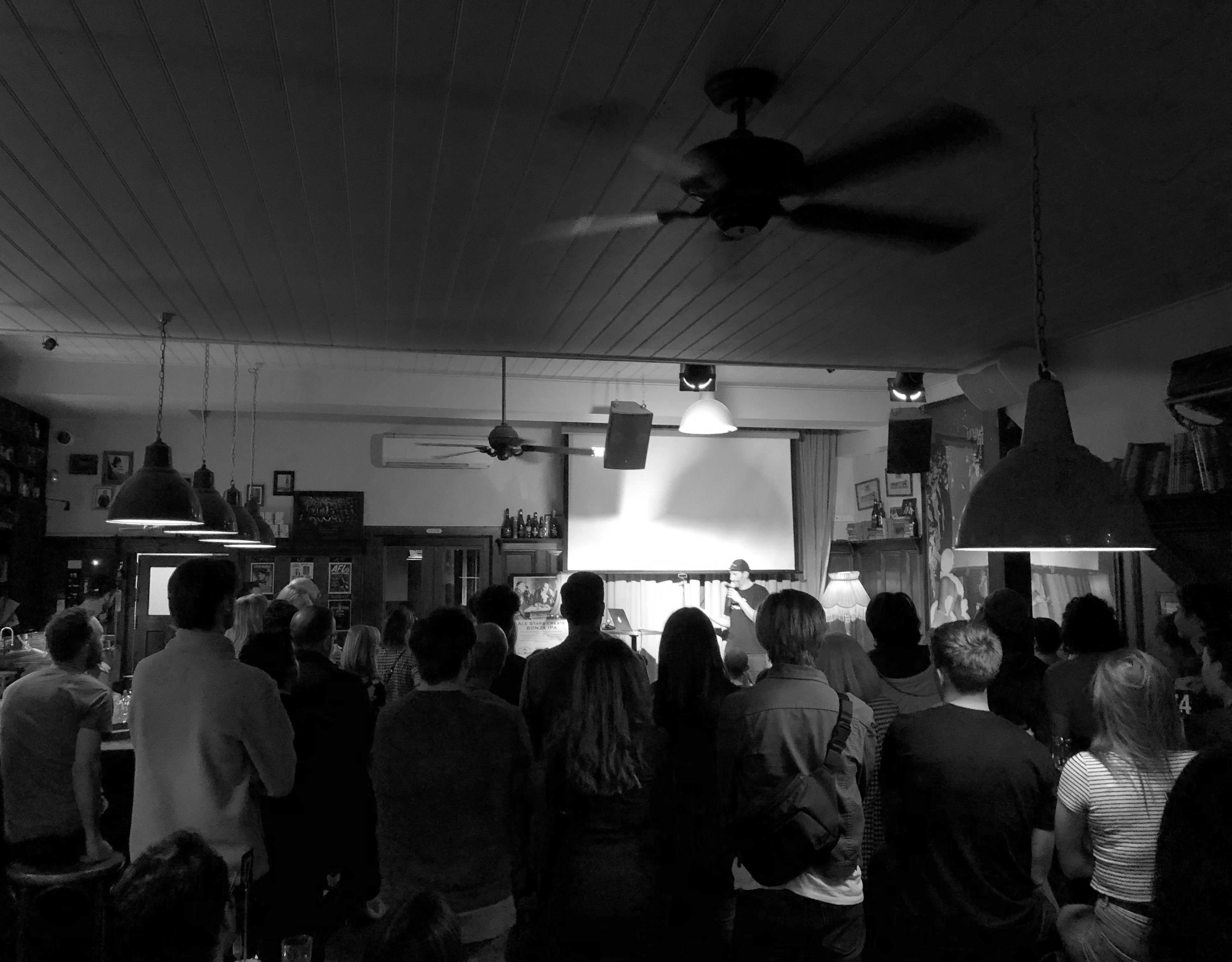 Melbourne's creative community learn how to find happiness in the ad industry at MADC Presents: Alex Wadelton event held last night