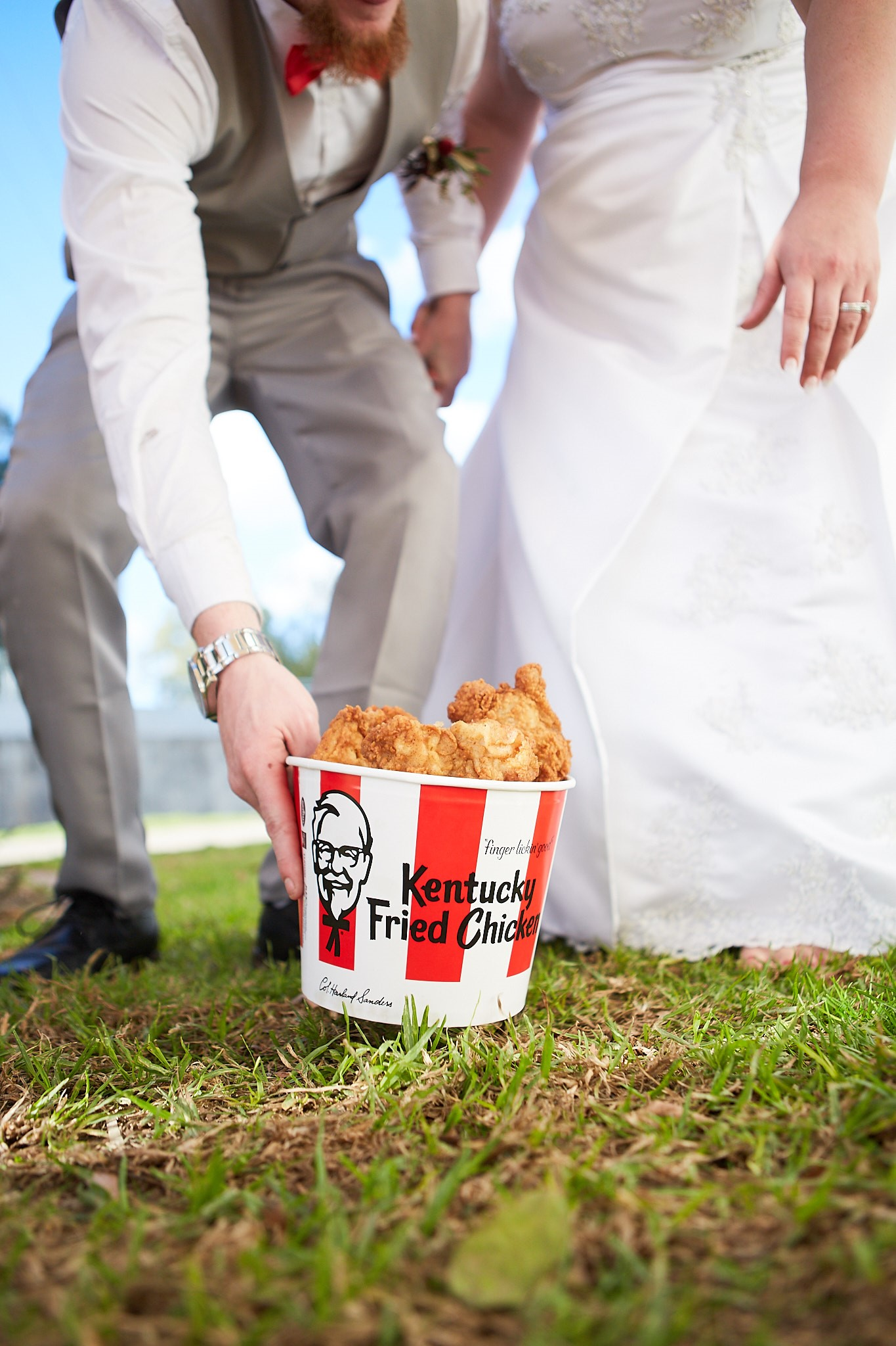 KFC encourages Aussies to 'put a wing on it' with new KFC Wedding Service launch via Ogilvy Sydney