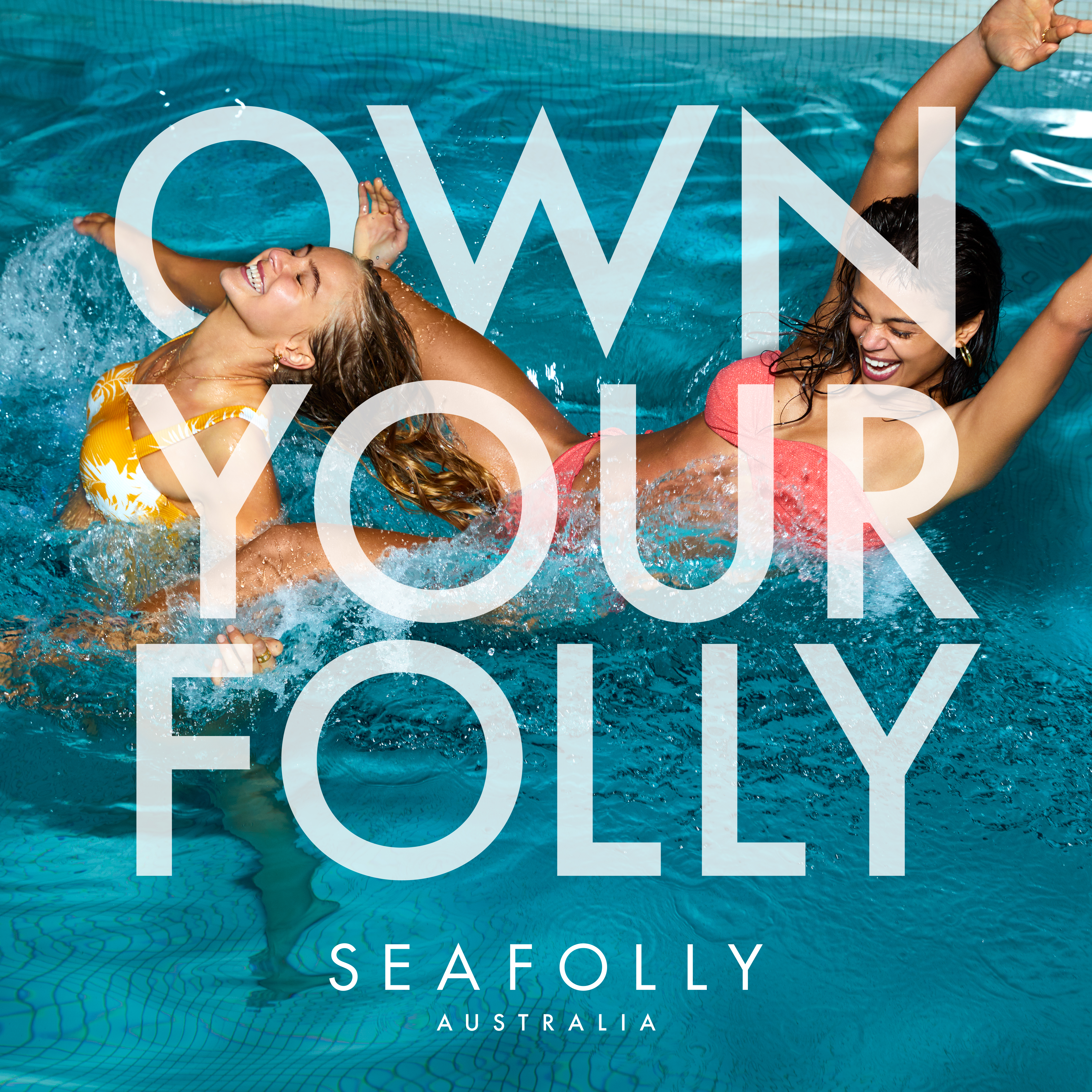 Seafolly gives women the confidence to own it in new 'Own Your Folly' campaign via Thinkerbell