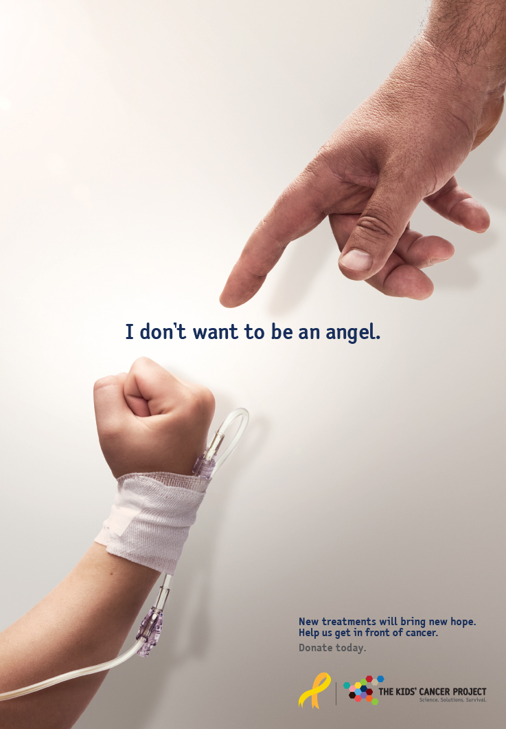 The Kids' Cancer Project launches new integrated campaign via Saatchi & Saatchi, Sydney for children who don't want to be angels