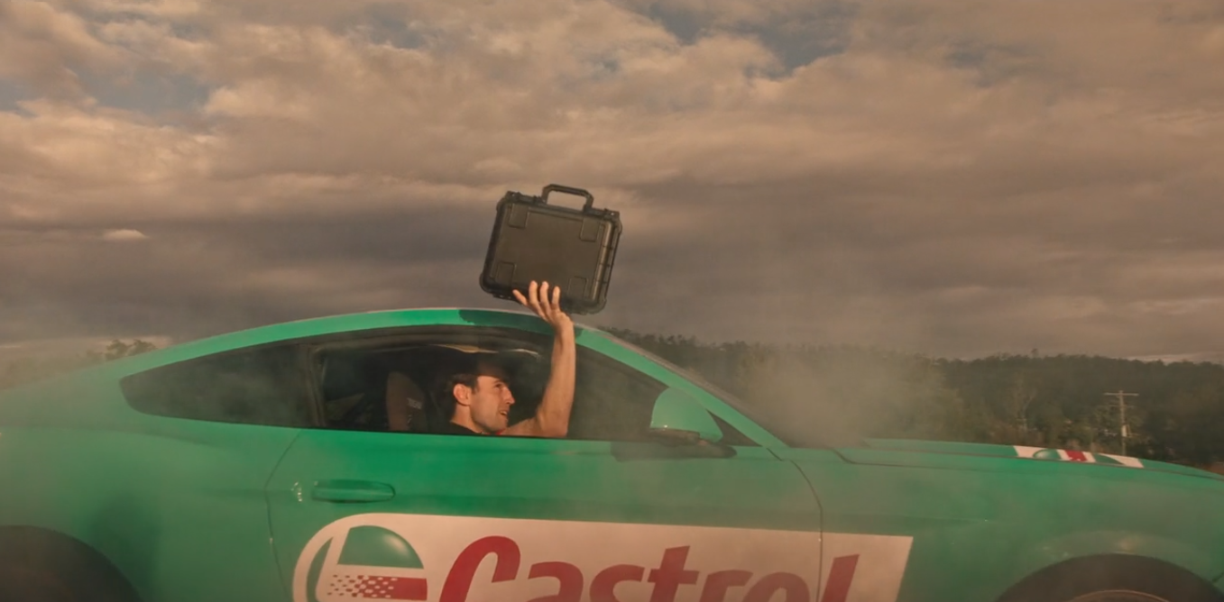 Full speed ahead for Taxi director Davros in the latest brand film for Supercheap Auto