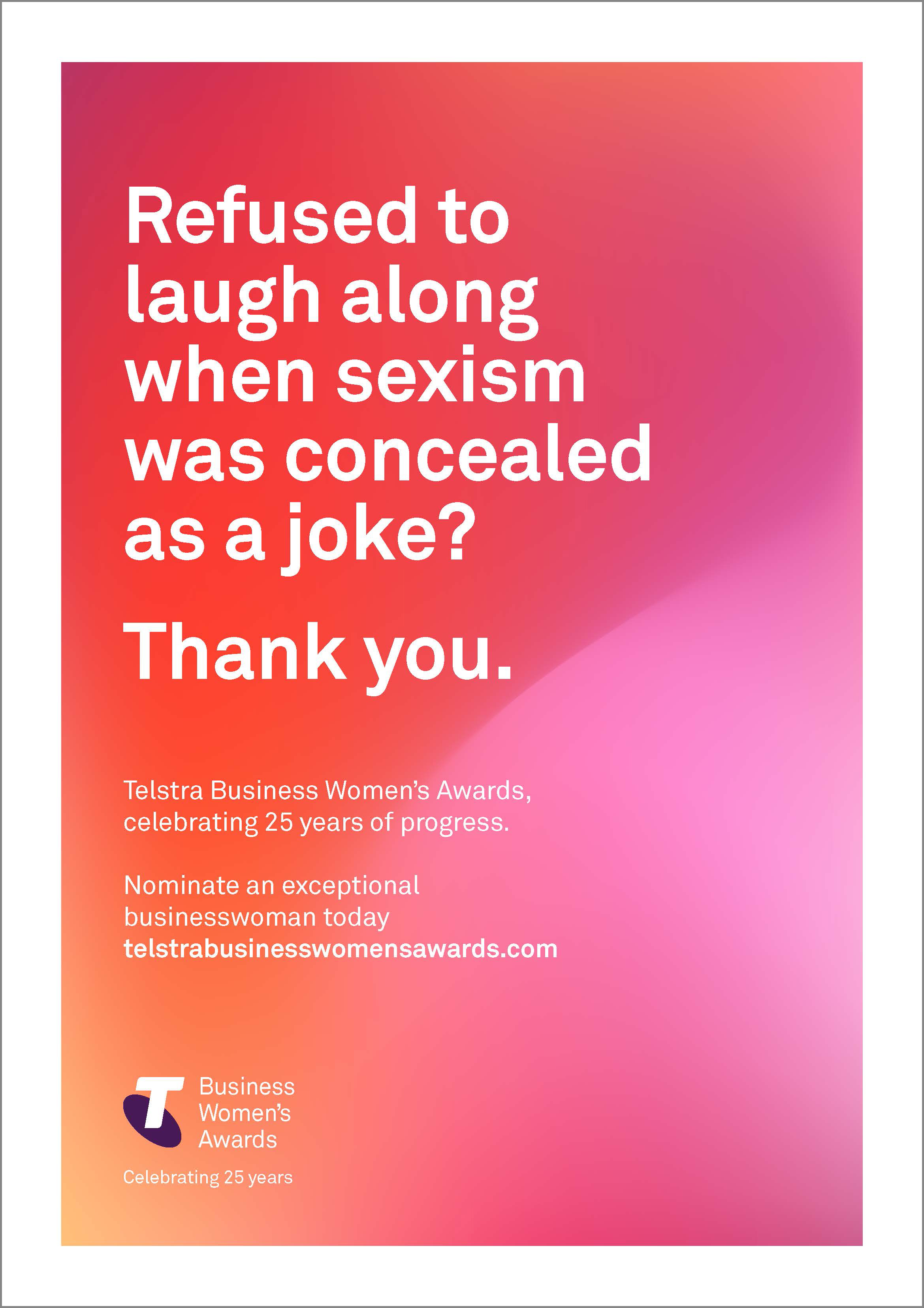 Telstra thanks women who have helped business progress in latest campaign via The Monkeys