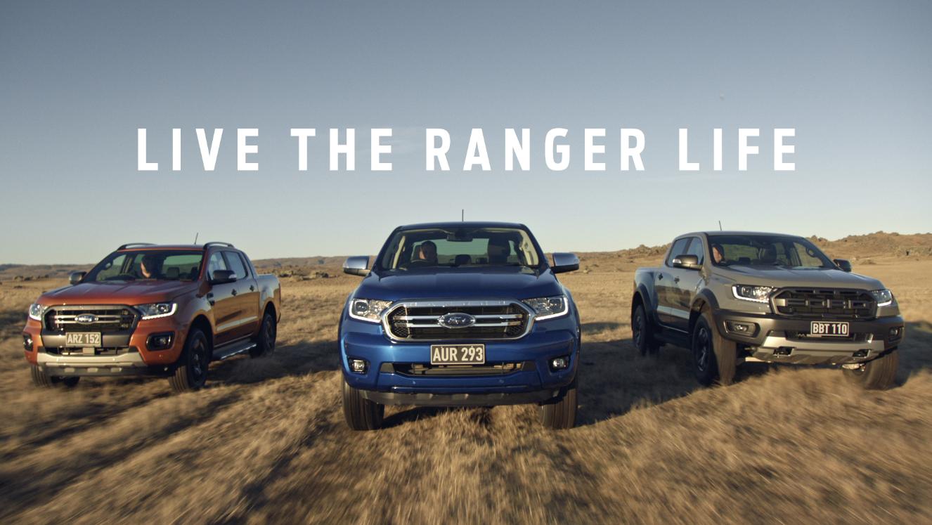 Ford Australia launches new platform for Ford Ranger – 'Live the Ranger Life' via BBDO Australia