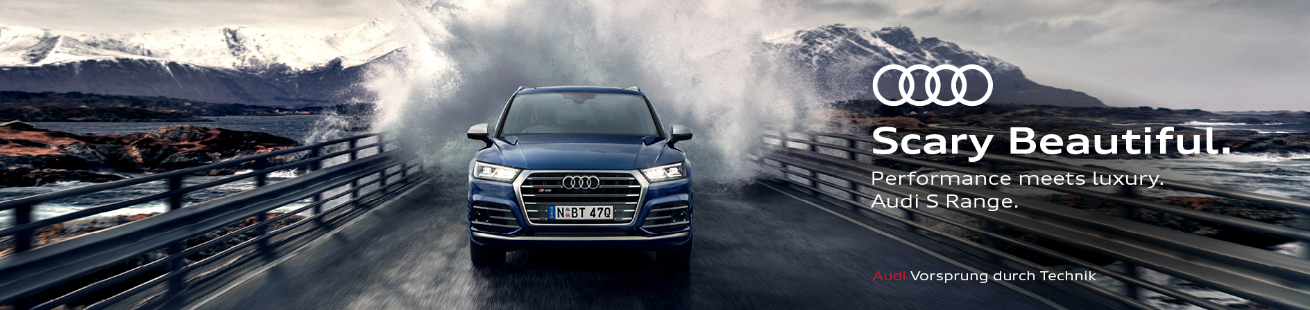 Audi Australia launches new 'Scary Beautiful' campaign for the Audi S model via WolfKing