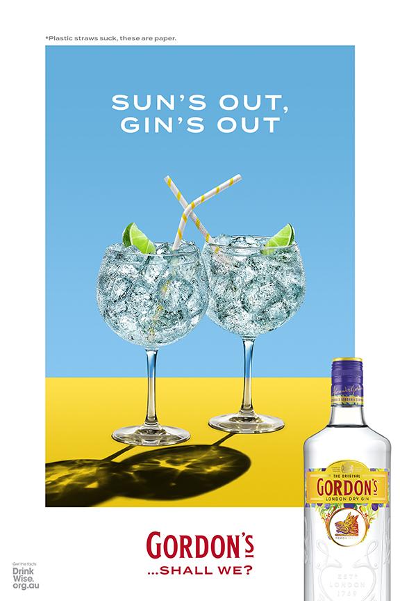 Gordon's Gin 'clocks off' in latest campaign via Leo Burnett Sydney, Spark Foundry and Traffik
