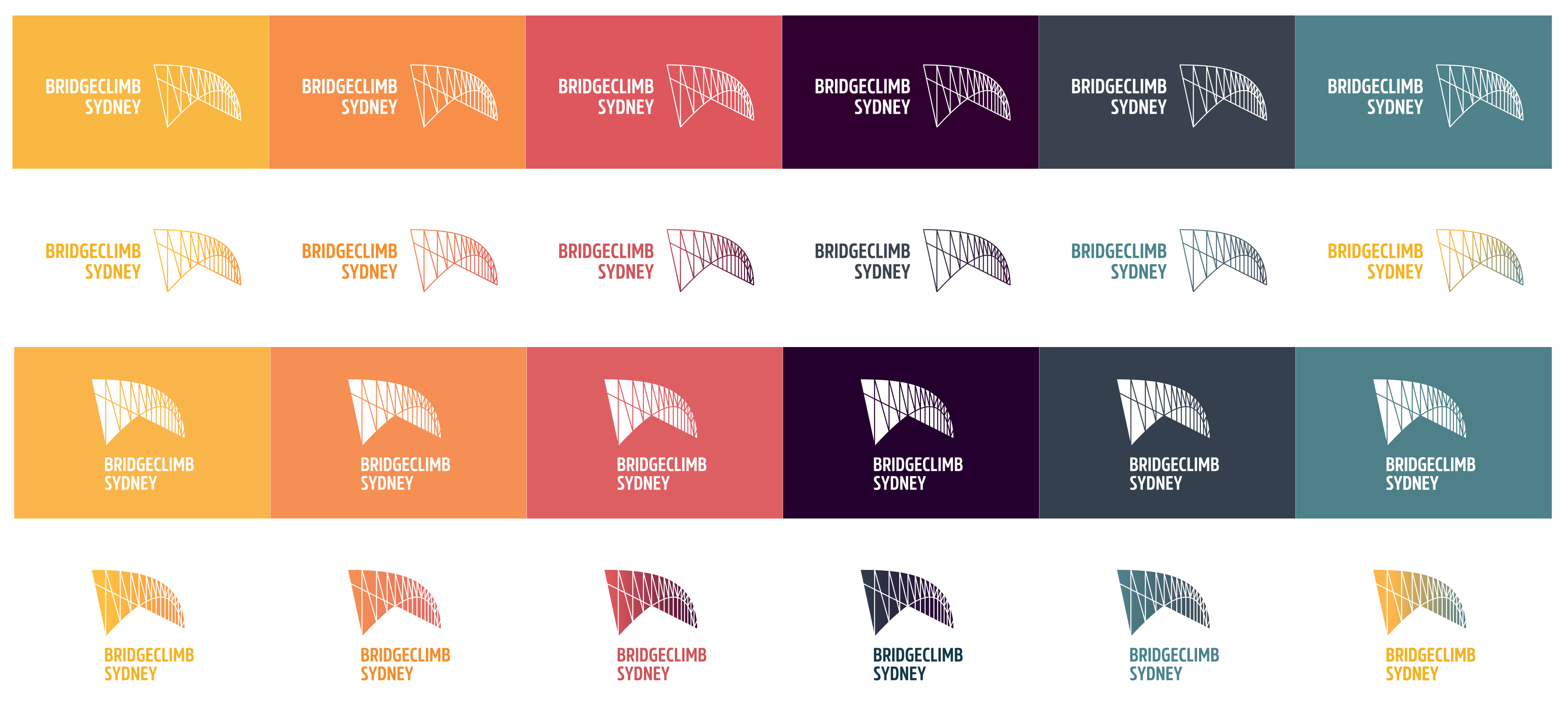 Iconic BridgeClimb Sydney celebrates with a 21st birthday brand refresh + identity via The Works