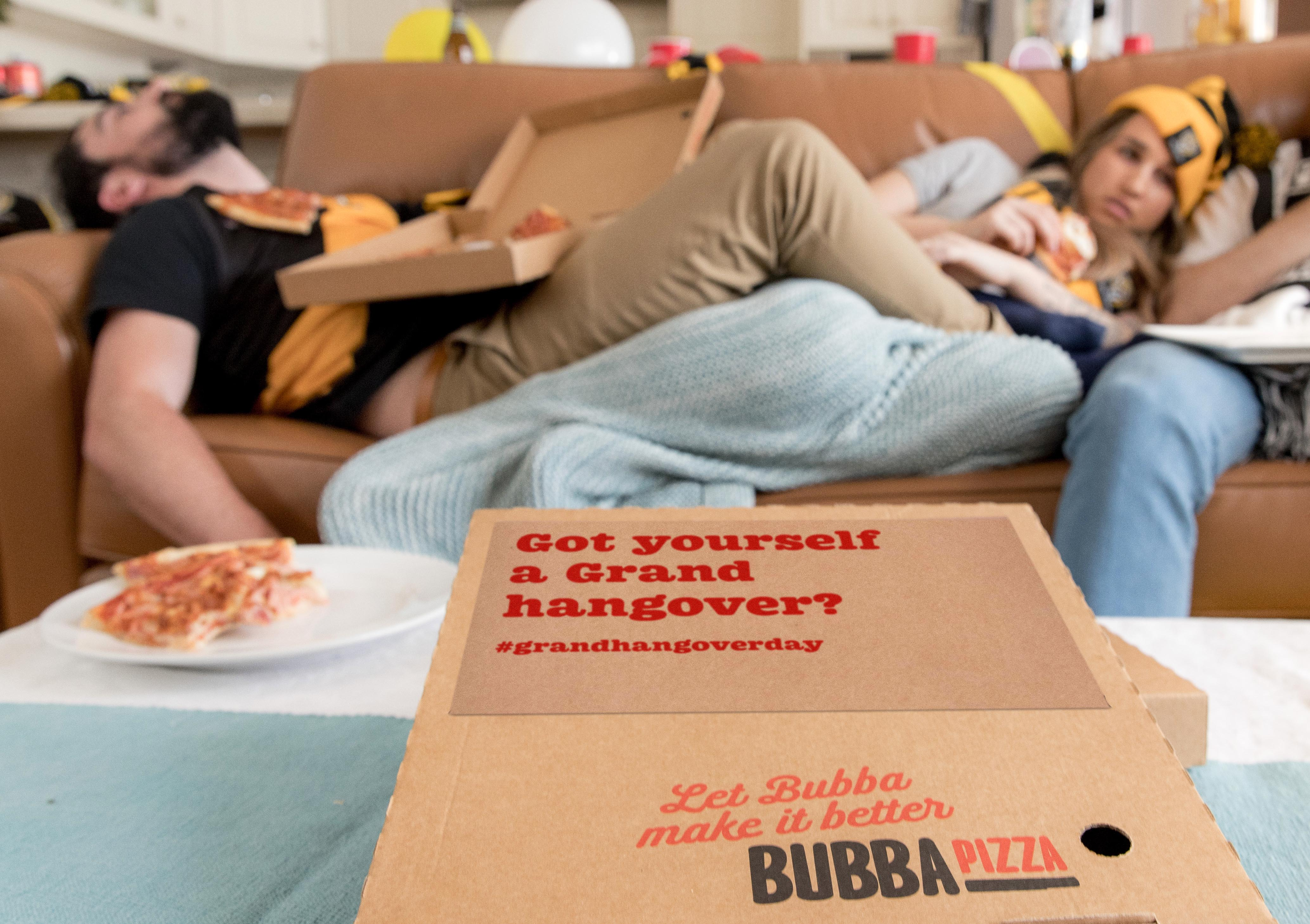 Bubba Pizza makes Grand Final hangovers better in newly launched campaign via By All Means