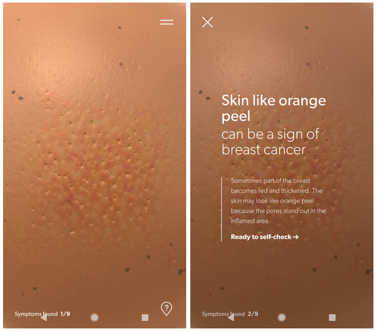 Breast Cancer Foundation NZ teaches your hands how to look for breast cancer in new 'Pre Check' campaign and multi-sensory app via Colenso BBDO