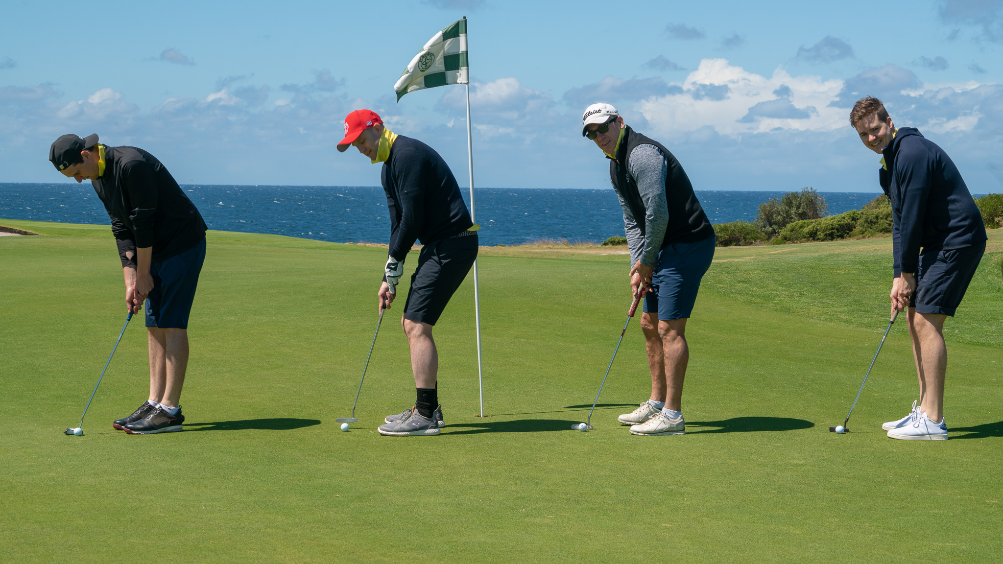 Industry swings for good at UnLtd Open golf tournament; ACM takes home the inaugural cup