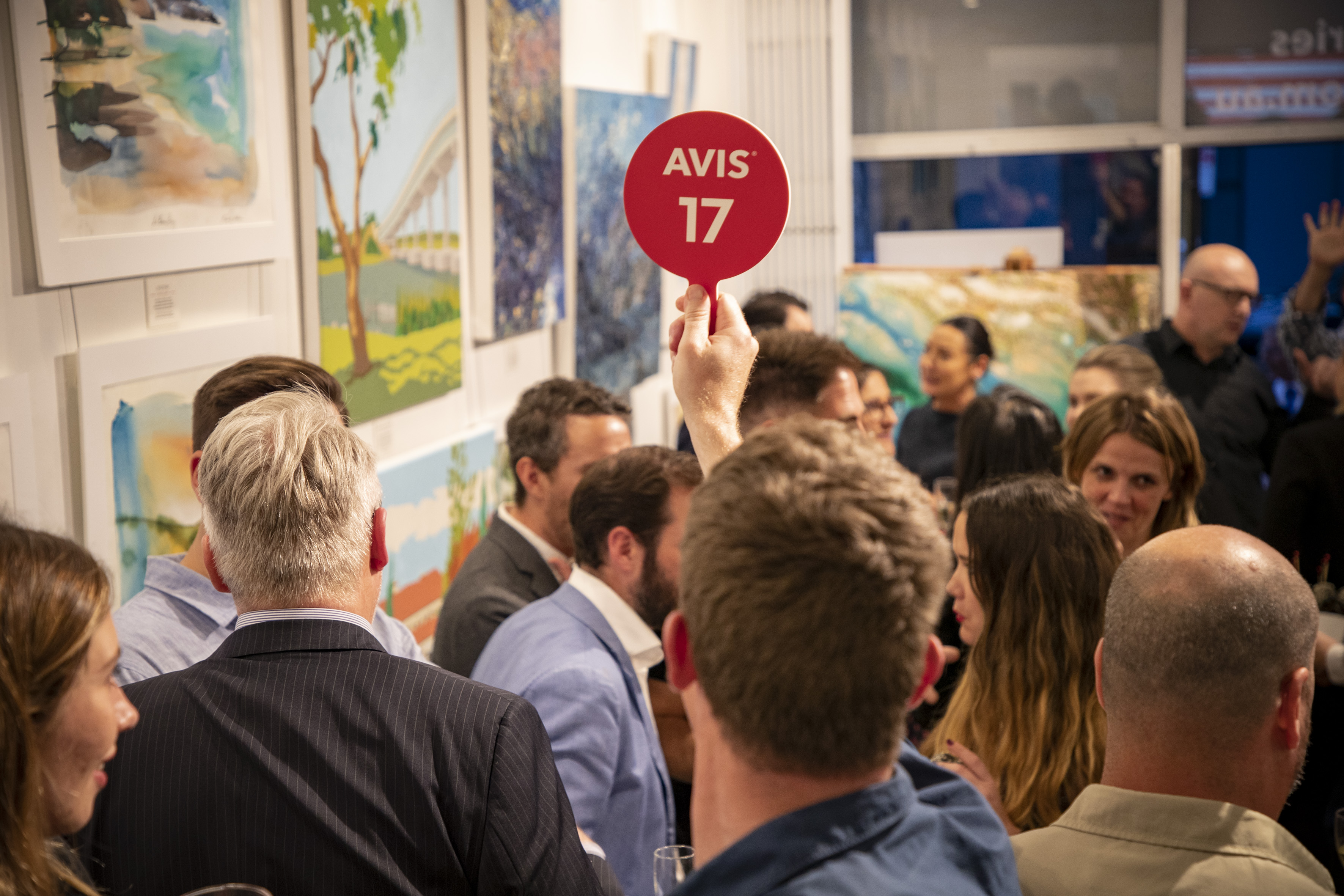 Avis raises over $15k for charity with Art of Discovery Auction via Red Havas + Havas Blvd