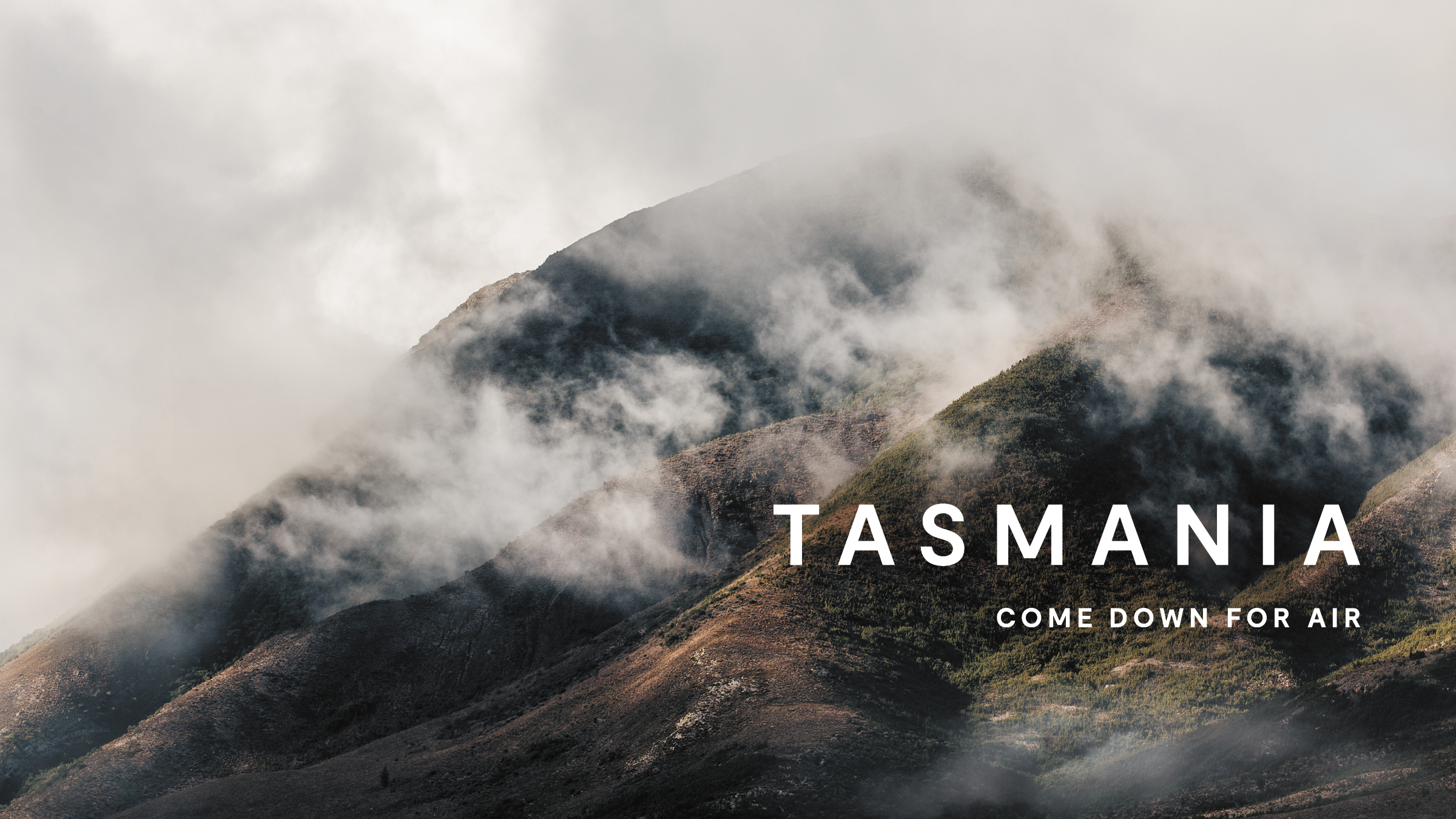 Tourism Tasmania invites Aussies to 'come down for air' in new campaign via BMF + Clems Sydney