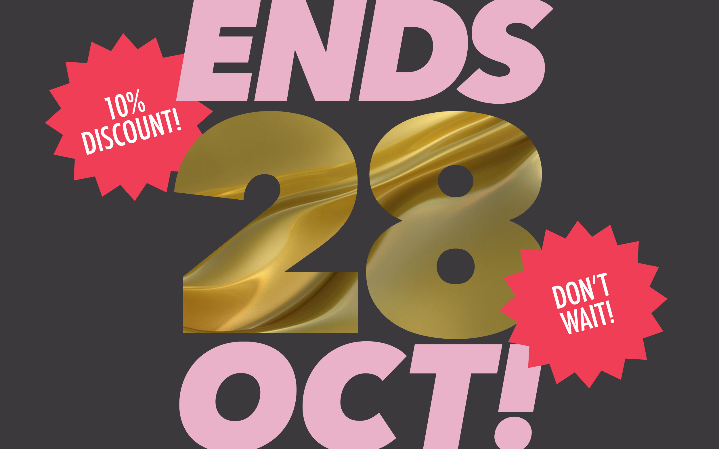 AWARD Awards early bird entries to close this Mon, 28th October – get your 10% discount now
