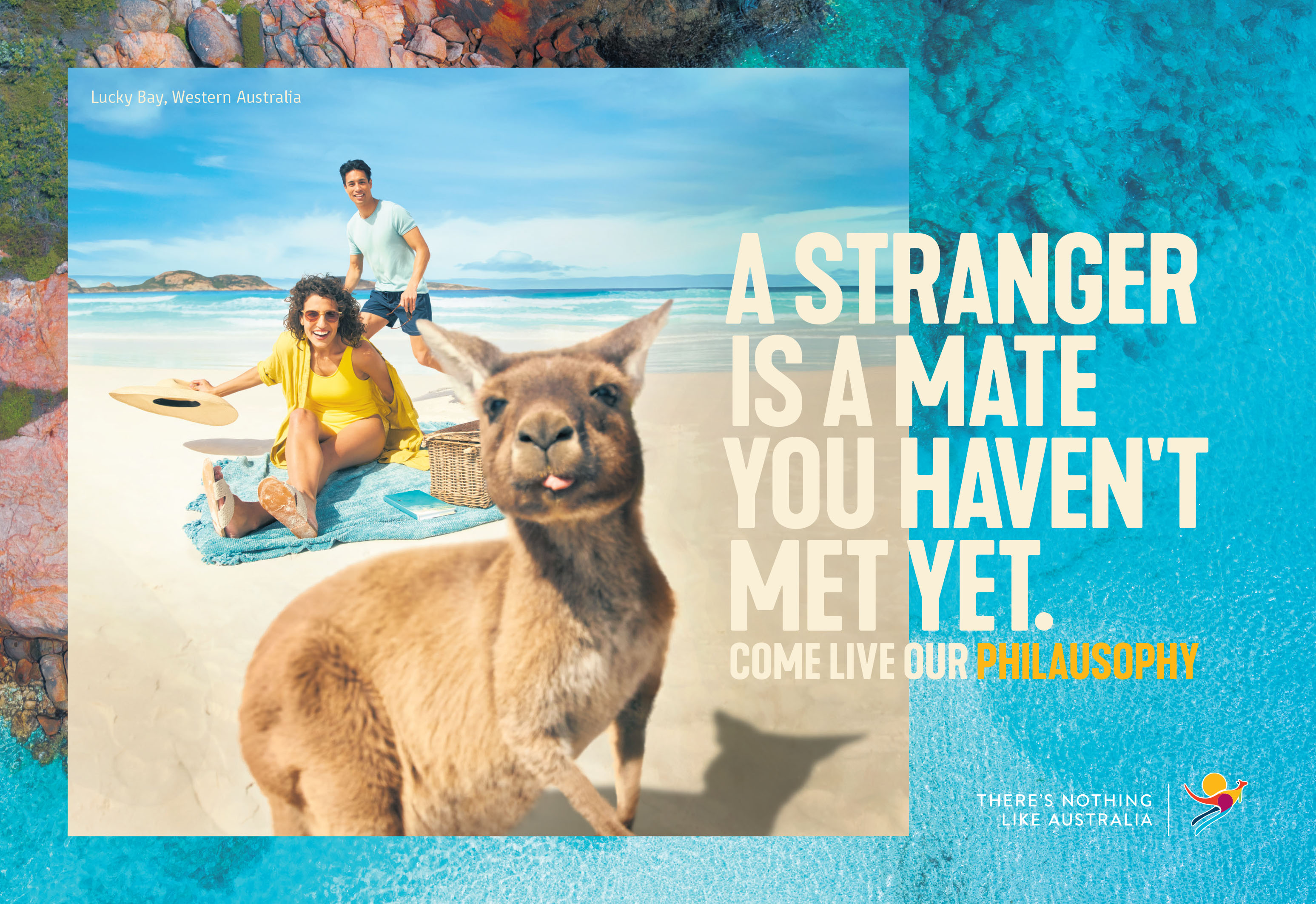 Tourism Australia invites the world to come and live Australia's Philausophy in major global campaign via M&C Saatchi Sydney, Digitas and UM