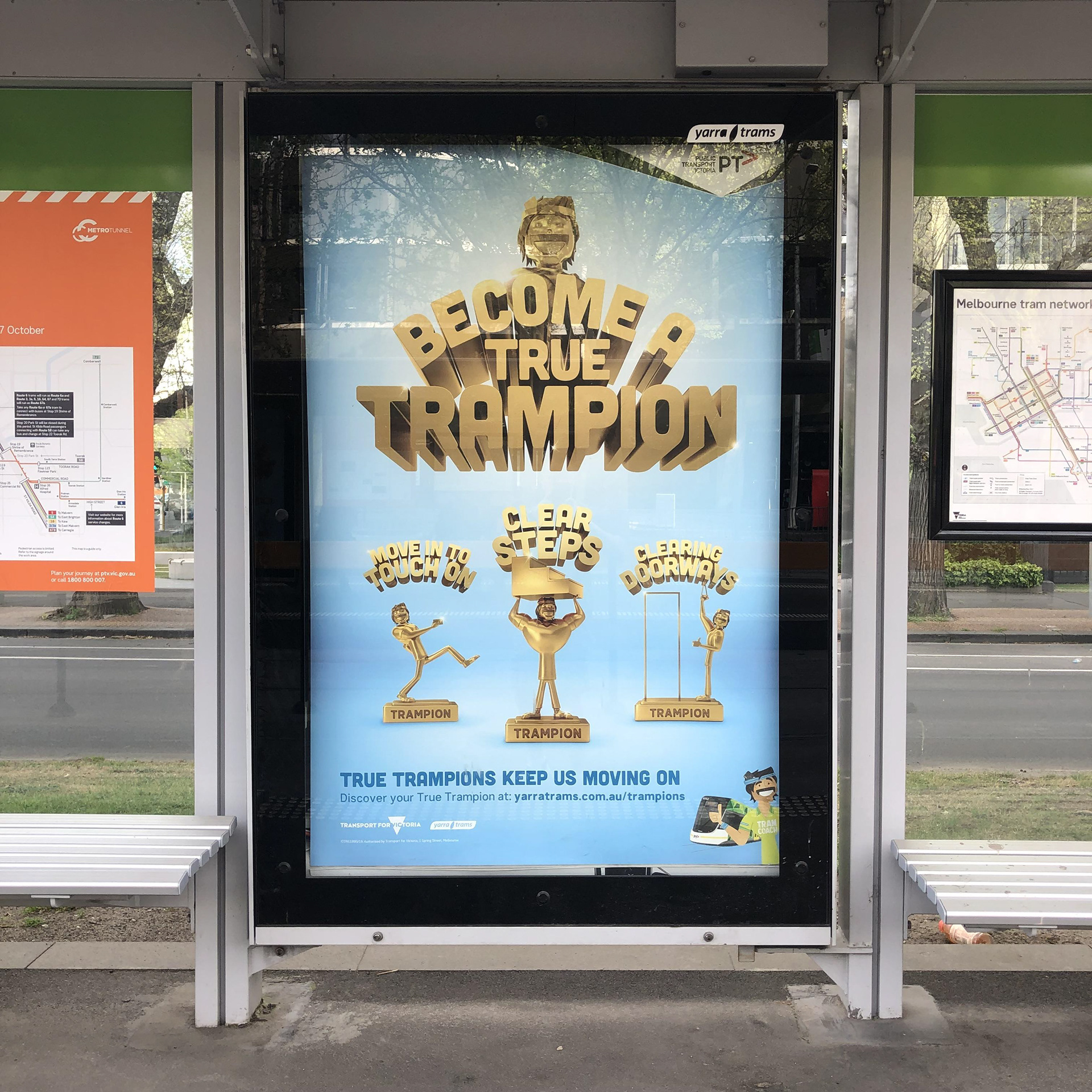 YARRA TRAMS ENCOURAGES PASSENGERS TO BECOME 'TRUE TRAMPIONS' IN NEW CAMPAIGN VIA ICON AGENCY