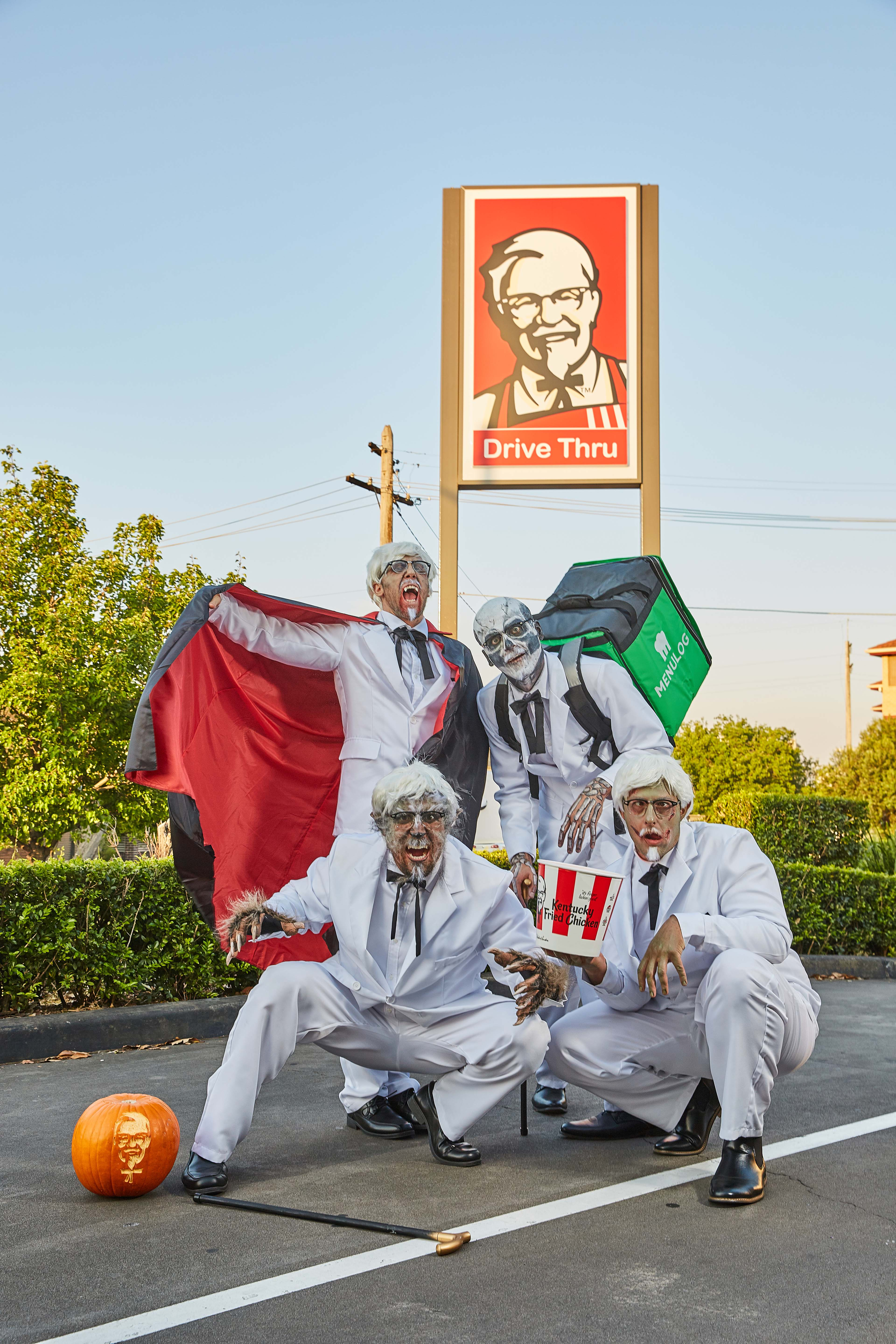 Cursed Colonels deliver spooky KFC Halloween surprises in latest campaign via Ogilvy Sydney