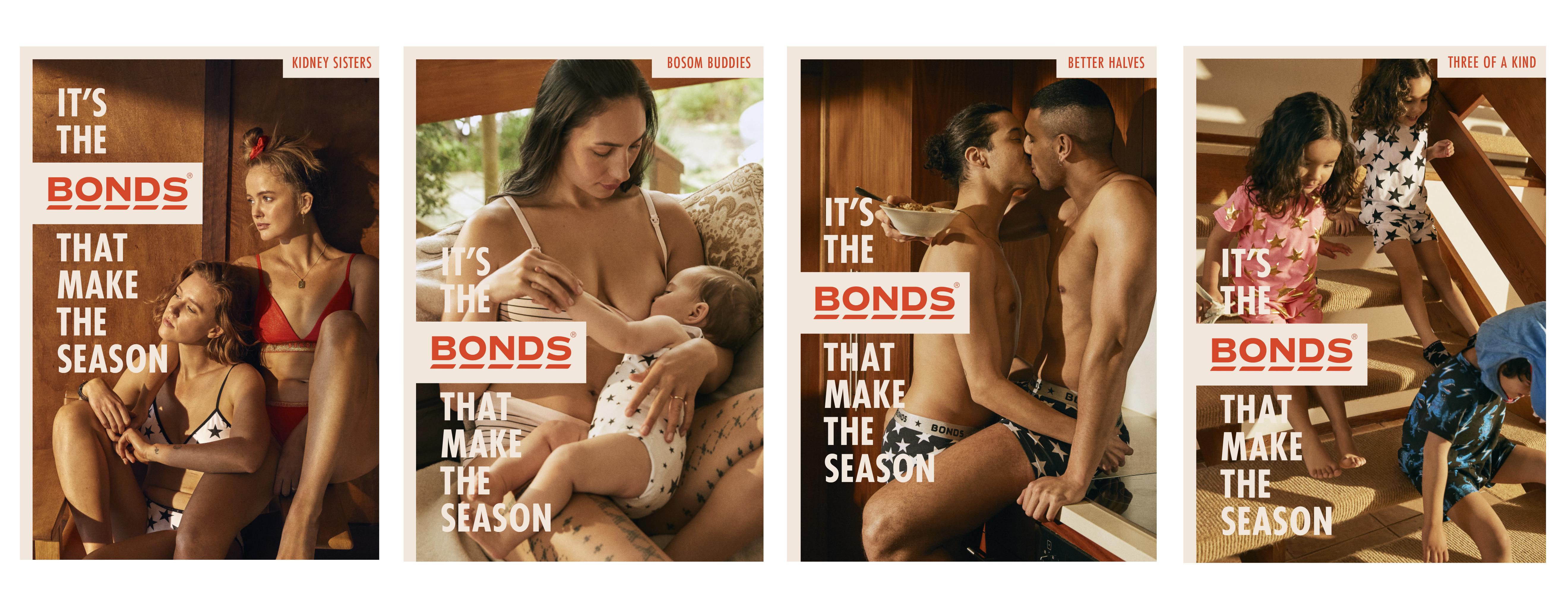 Bonds recognises it's the Bonds that make the season in new work via Leo Burnett, Melbourne