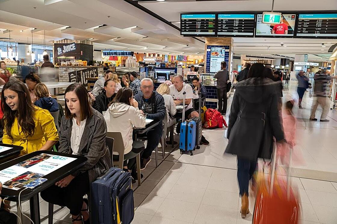 Innovative EAT Tables at Sydney Airport create highly immersive experience for customers of all ages