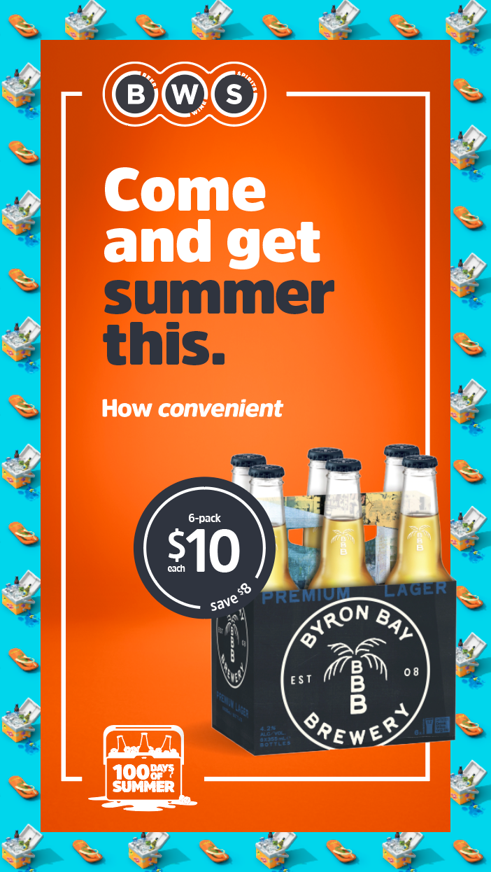 BWS' '100 Days of Summer' promotion returns with 'BWS on tApp' launch via M&C Saatchi