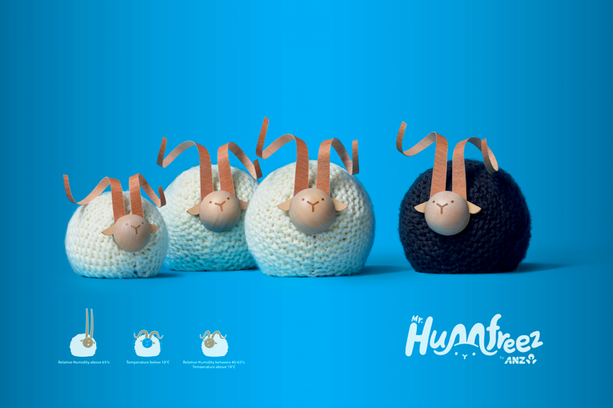 ANZ and TBWA\Group NZ launch Mr Humfreez: A nature powered smart device without a screen