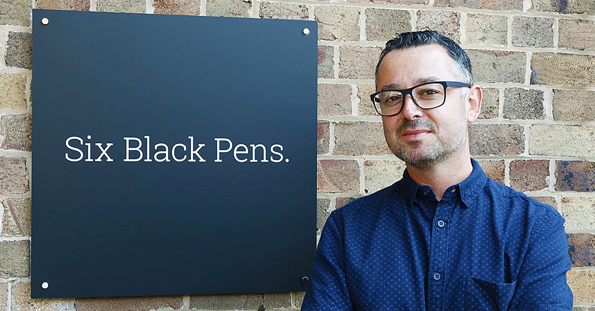 Six Black Pens bolsters creative delivery with newly appointed head of creative Joe Mayock