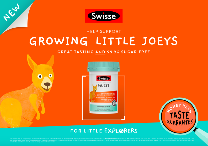 Swisse launches 'For Little Explorers' campaign to launch Swisse Kids range via Noisy Beast