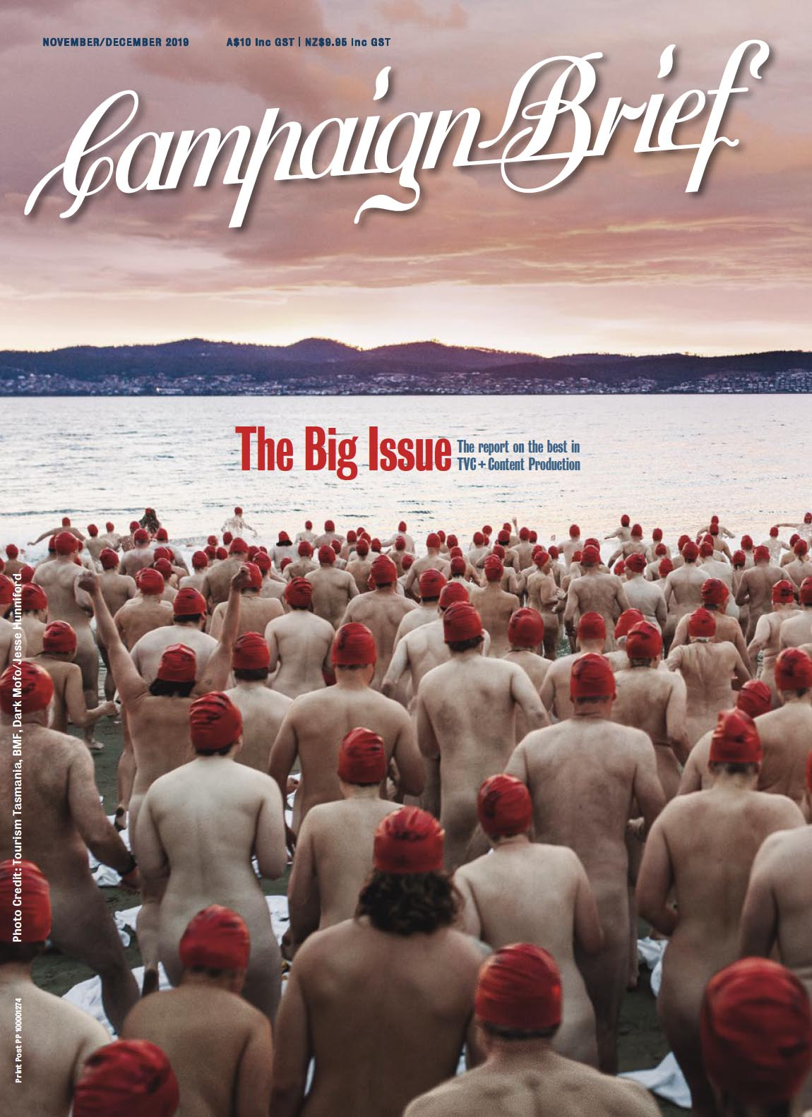 Don't miss the Big Issue of Campaign Brief featuring OZ/NZ TVC Production + Content Report – OUT NOW