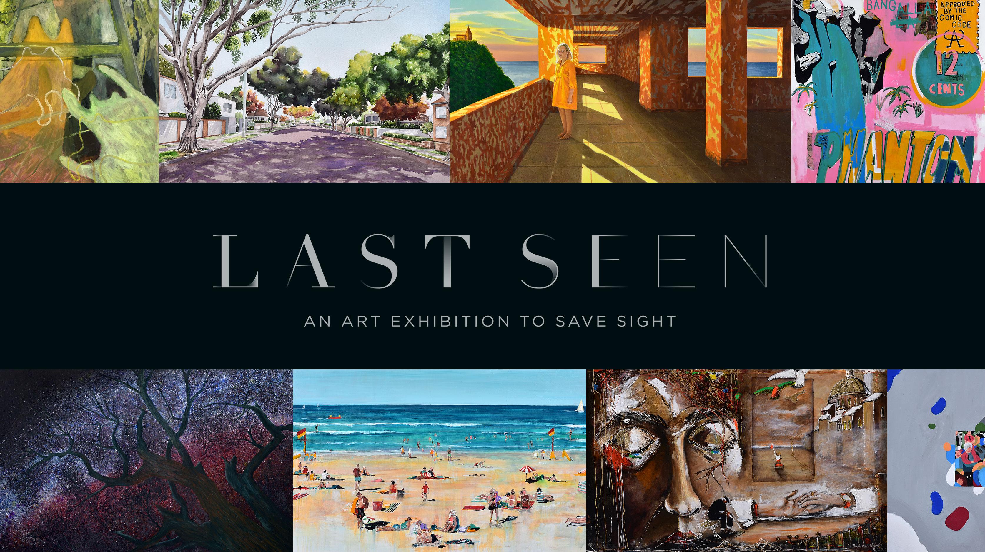 The Queensland Eye Institute Foundation Holds 'LAST SEEN' Art Exhibition via Publicis Worldwide