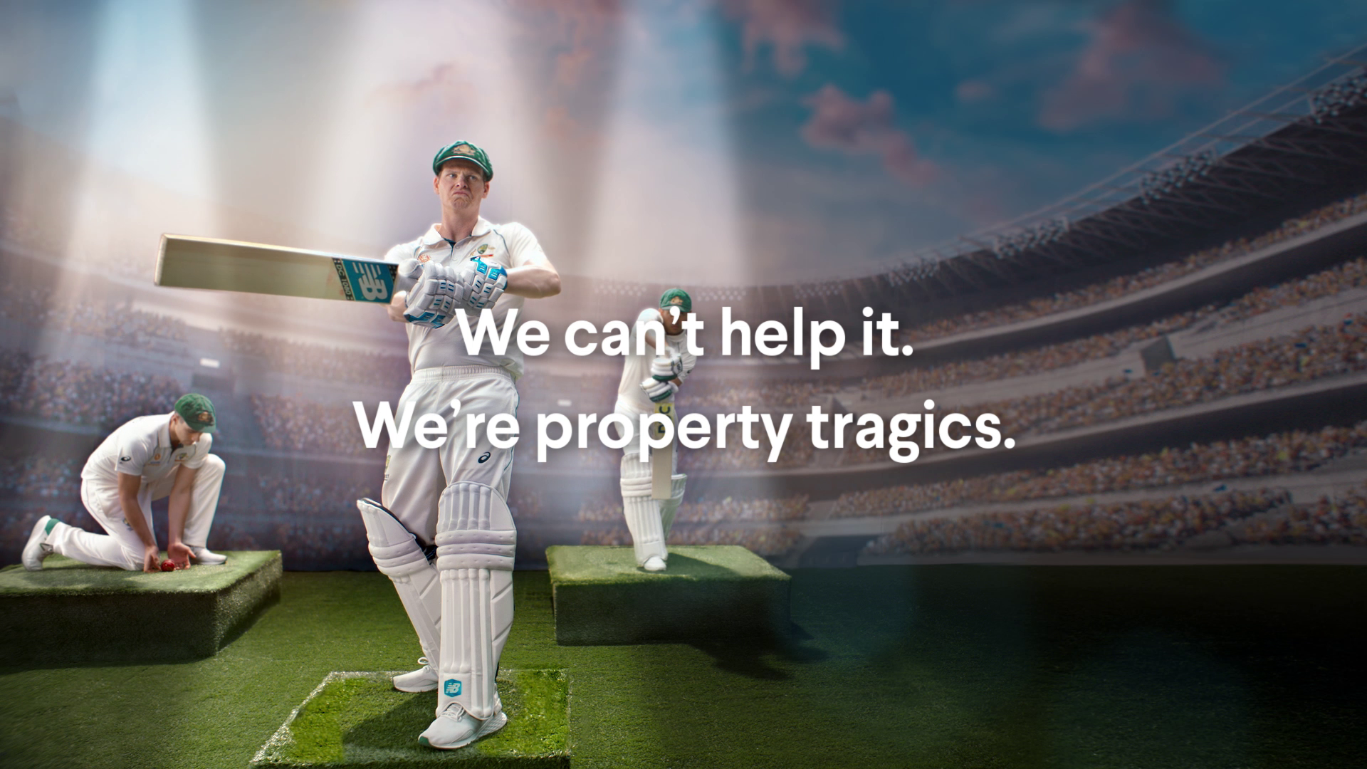 Domain and Cricket Australia launch 'Proudly Property Tragics' campaign via Special Group