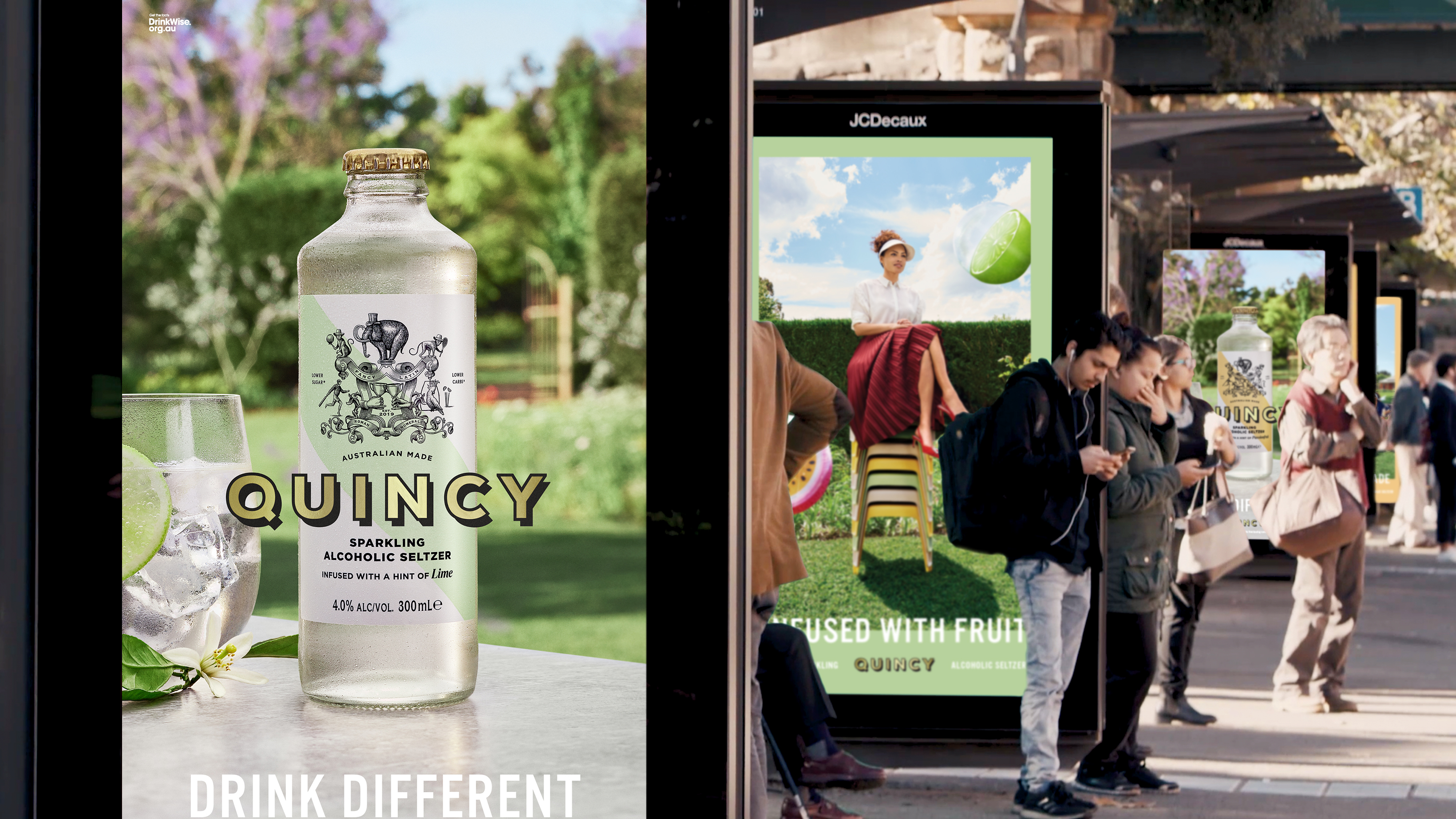 Lion unveils Australia's first alcoholic seltzer in new 'Drink Different' campaign via Paper Moose