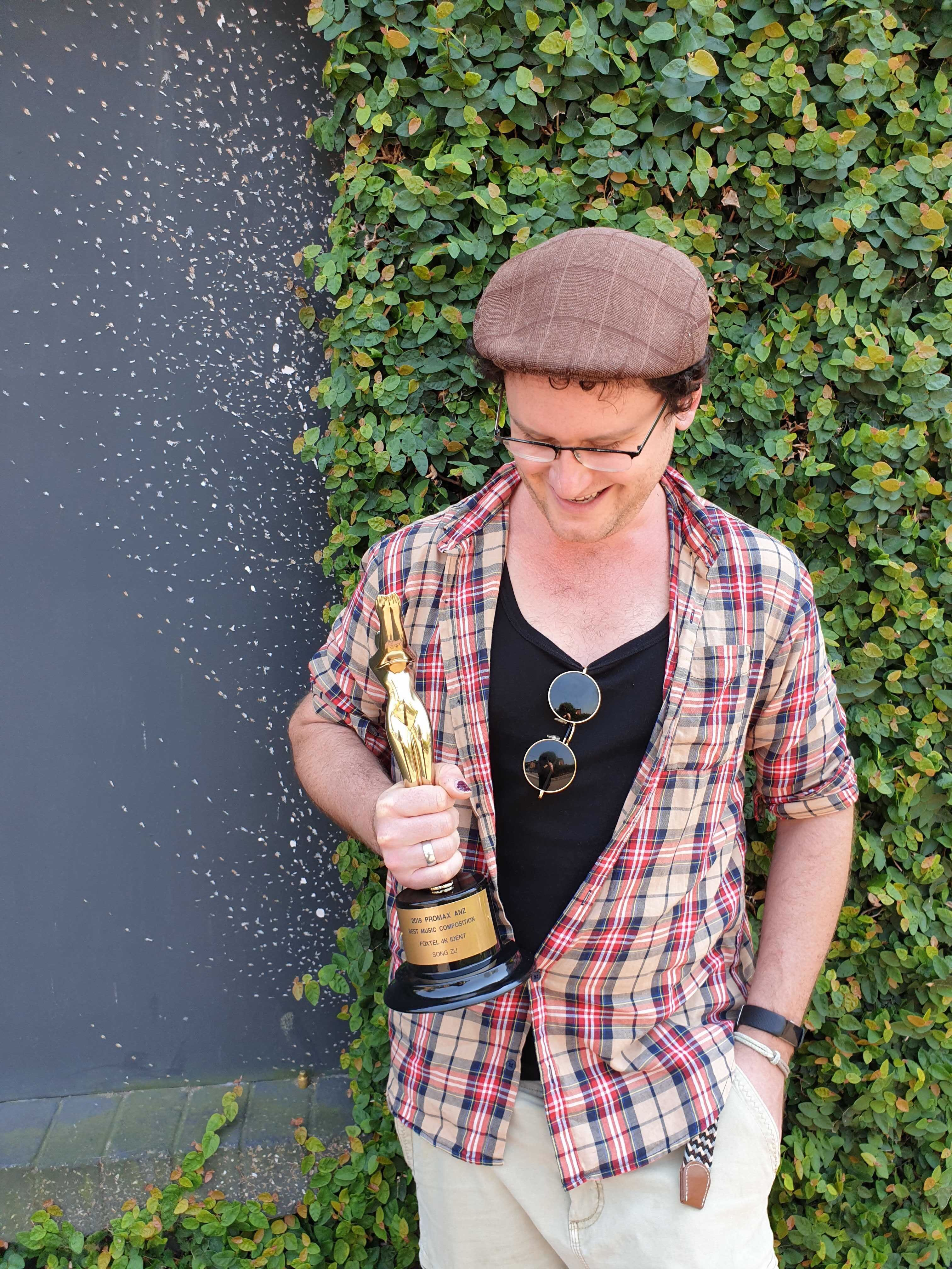 Song Zu composer Adrian Sergovich wins APRA / AMCOS Screen Music Award and Promax Gold