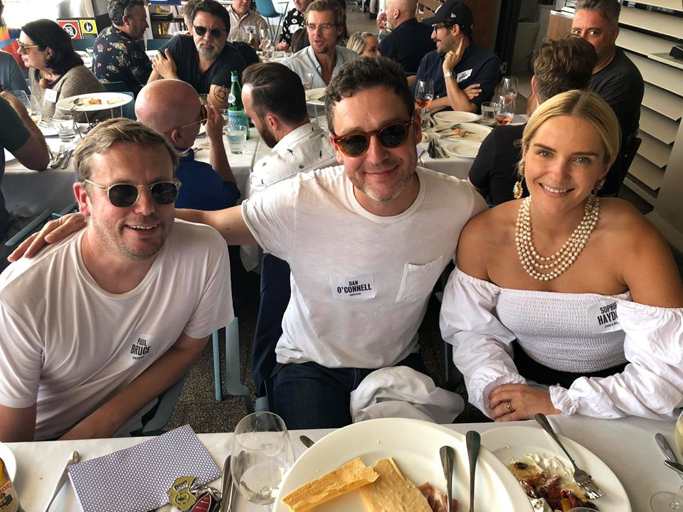 Sydney's top creatives attend the Campaign Brief / LBB Christmas Legendary Lunch hosted by Fin Design + Effects and Taxi Film Production
