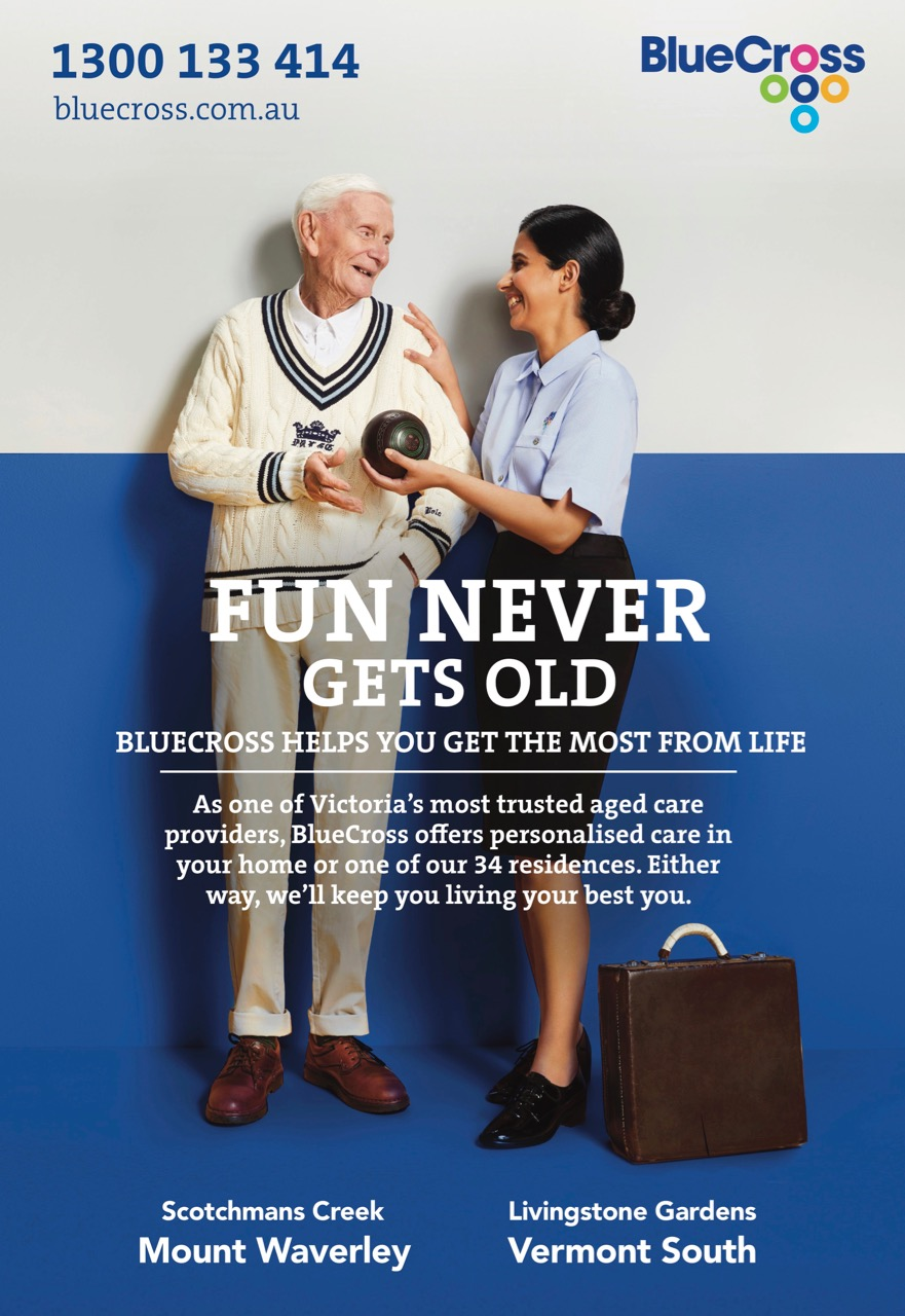 Aged care provider BlueCross launches new creative platform via ADZ Collective