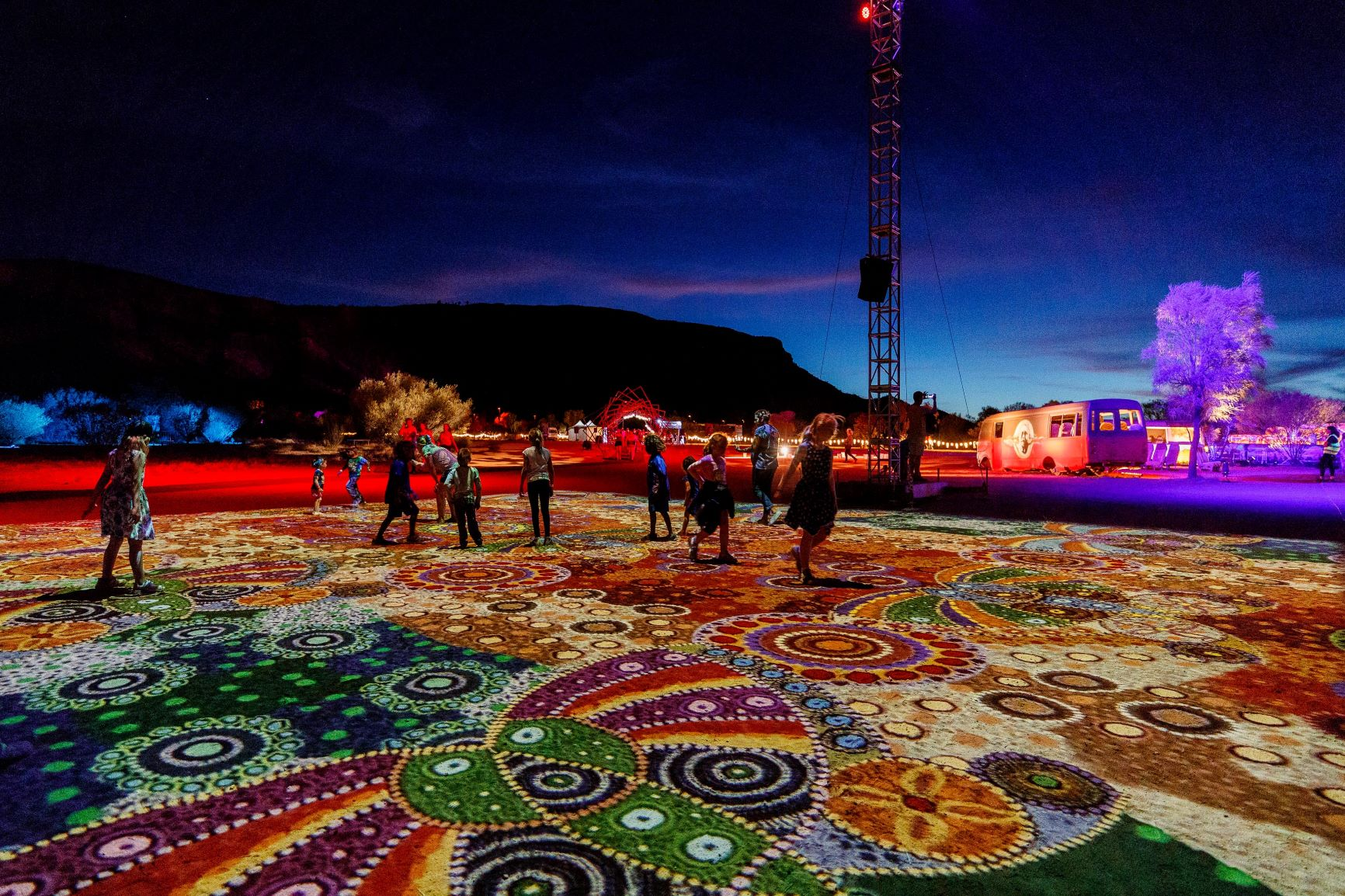 NTMEC reappoints Atomic 212° as marketing partner for 2020 Parrtjima A Festival Of Light