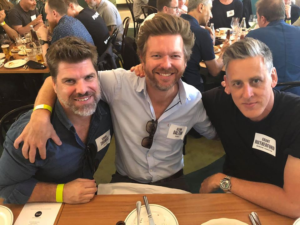 Melbourne's top creatives attend the Campaign Brief Xmas Legendary Lunch sponsored by OTTO