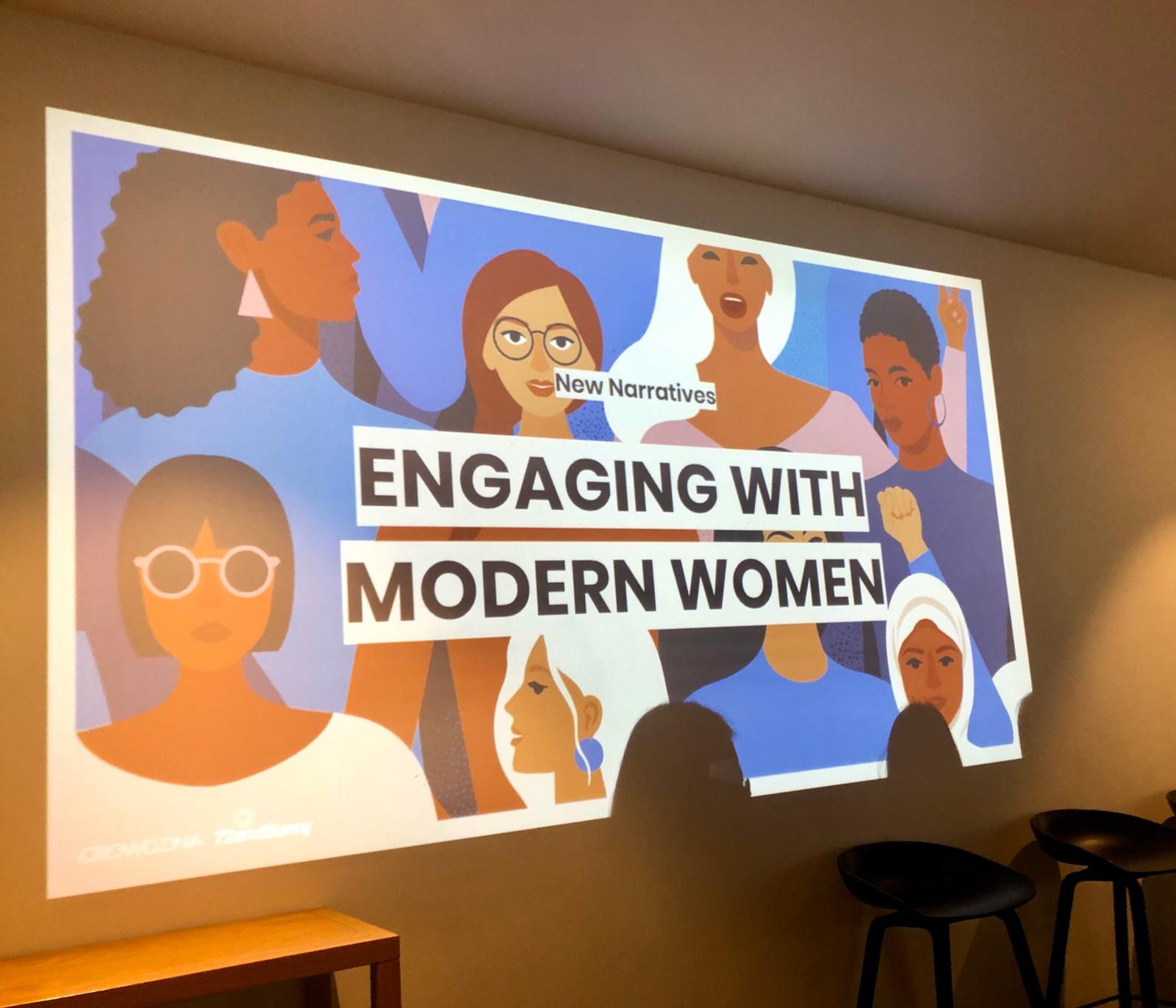 72andSunny, Crowd DNA + Lion's New Narratives: Engaging With Modern Women event a success