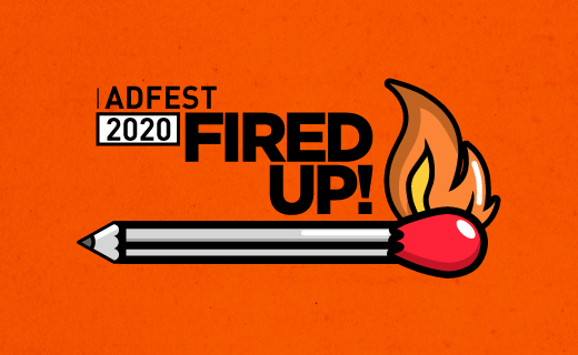 Impact BBDO and BBDO Pakistan join forces to design Adfest's 'Fired Up!' 2020 identity