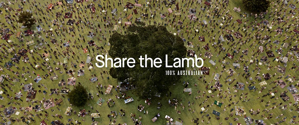 Summer Lamb Campaign 'Lambalytica' via The Monkeys Asks tech-obsessed Aussies To Leave Their Screens For A Real Time Feed