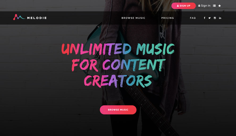 Melodie launches subscription music for content creators