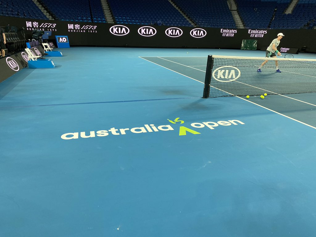 Australian Open Charter Flights possibe super spreaders as 47 tennis players In quarantine after positive Covid-19 tests