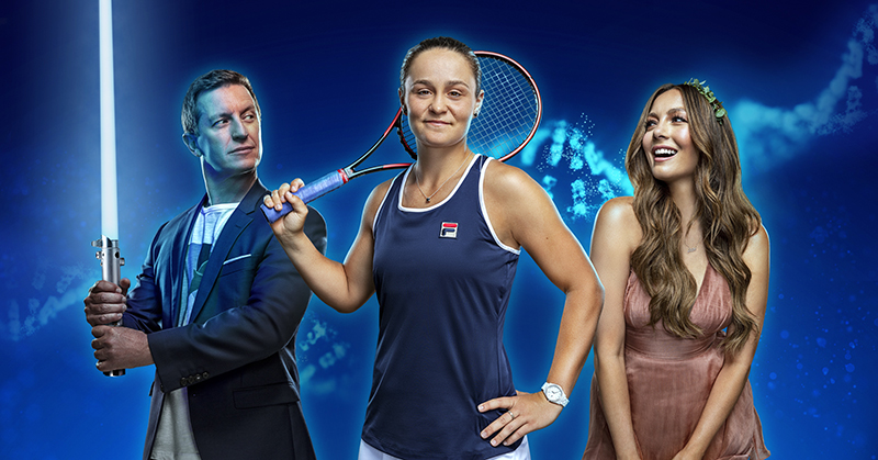 Rove, Ricki-Lee and Ash Barty team up to launch Disney+ DNA in new campaign via Special Group
